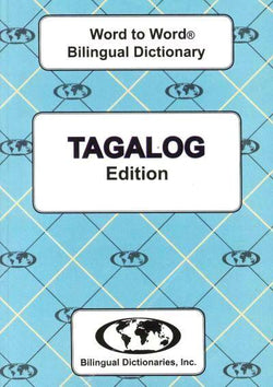 Exam Suitable : English-Tagalog & Tagalog-English Word-to-Word Dictionary 9780933146372