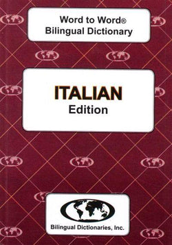 Exam Suitable : English-Italian & Italian-English Word-to-Word Dictionary 9780933146518