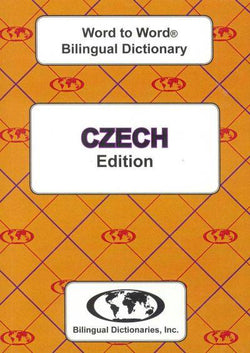 Exam Suitable : English-Czech & Czech-English Word-to-Word Dictionary