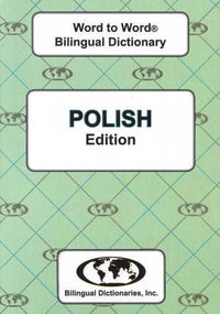 Exam Suitable : English-Polish & Polish-English Word-to-Word Dictionary 9780933146648