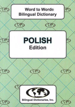 Exam Suitable : English-Polish & Polish-English Word-to-Word Dictionary