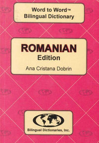 Exam Suitable : English-Romanian & Romanian-English Word-to-Word Dictionary 9780933146914