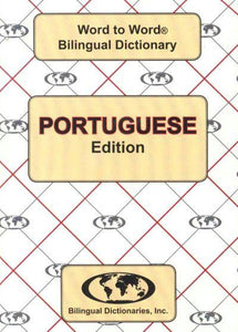 Exam Suitable : English-Portuguese & Portuguese-English Word-to-Word Dictionary 9780933146945