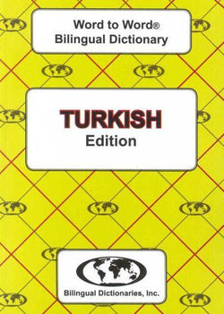 Exam Suitable : English-Turkish & Turkish-English Word-to-Word Dictionary