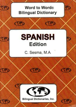 Exam Suitable : English-Spanish & Spanish-English Word-to-Word Dictionary
