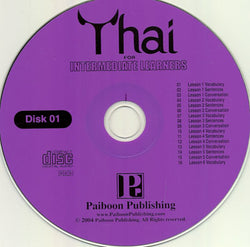 Thai for Intermediate Learners - 2 audio CDs 9781887521499