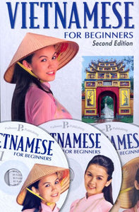 Vietnamese for Beginners (Book and 3 CDs) 9781887521864