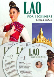 Lao for Beginners - Pack (Book and 3 audio CDs) 9781887521895