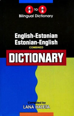 Exam Suitable : English-Estonian & Estonian-English One-to-One Dictionary