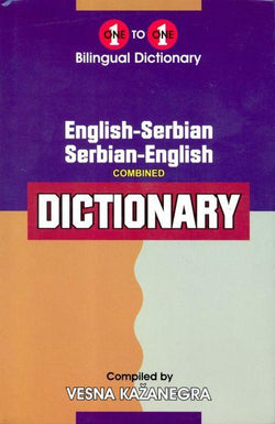 Exam Suitable : English-Serbian & Serbian-English One-to-One Dictionary