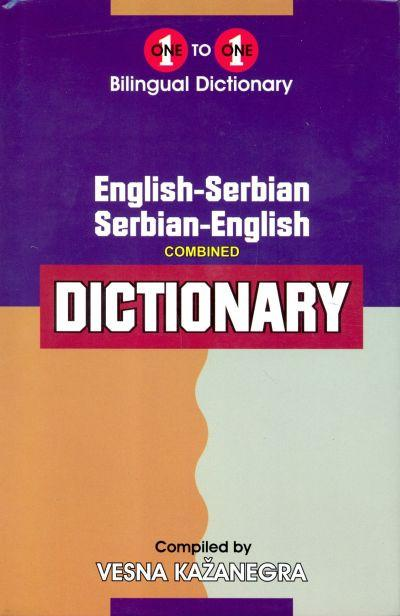 Exam Suitable : English-Serbian & Serbian-English One-to-One Dictionary 9781908357069