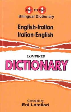 Exam Suitable : English-Italian & Italian-English One-to-One Dictionary