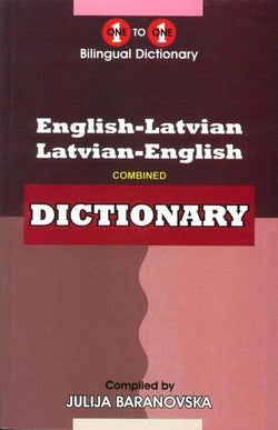 Exam Suitable : English-Latvian & Latvian-English One-to-One Dictionary 9781908357489