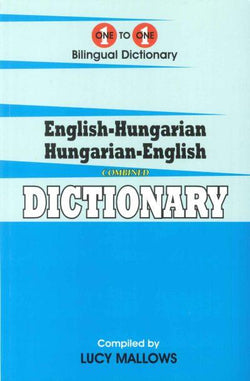 Exam Suitable : English-Hungarian & Hungarian-English One-to-One Dictionary