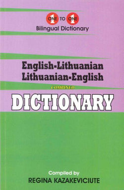 Exam Suitable : English-Lithuanian & Lithuanian-English One-to-One Dictionary