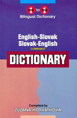 Exam Suitable : English-Slovak & Slovak-English One-to-One Dictionary