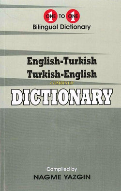 Exam Suitable : English-Turkish & Turkish-English One-to-One Dictionary 9781908357564 - front