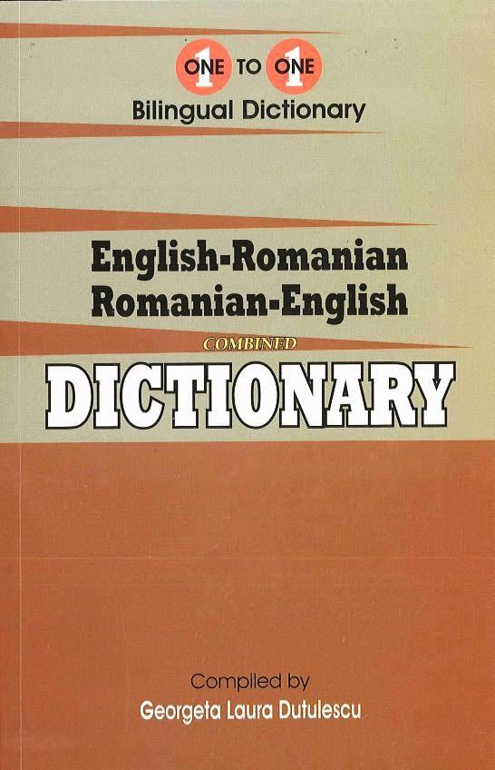 Exam Suitable : English-Romanian & Romanian-English One-to-One Dictionary 9781908357601 - front cover