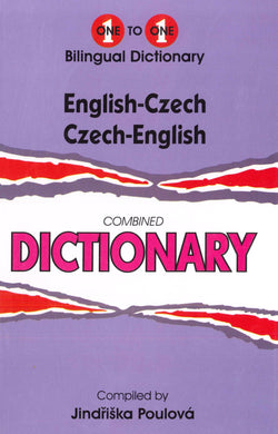 Exam Suitable : English-Czech & Czech-English One-to-One Dictionary 9781908357625