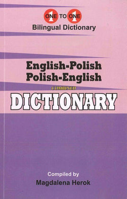 Exam Suitable : English-Polish & Polish-English One-to-One Dictionary