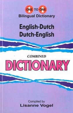 Exam Suitable : English-Dutch & Dutch-English One-to-One Dictionary 9781908357687