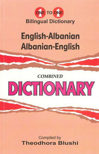 Exam Suitable : English-Albanian & Albanian-English One-to-One Dictionary 9781908357717 - front cover