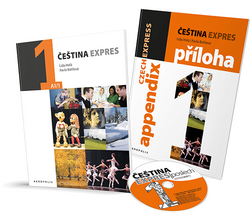 Cestina Expres / Czech Express 1 (Textbook, English Appendix and CD) - 9788087481226 - cover images