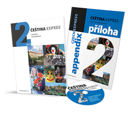 Cestina Expres / Czech Express 2. Pack (Textbook, English Appendix & free audio CD) - 9788087481264 - cover images