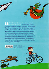 My First English Dictionary: English-Finnish. Illustrated for children and school use 9789512080267 - back cover