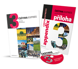 Cestina Expres / Czech Express 3. Pack (2 Books and a free audio CD) - 9788074700323 - front covers
