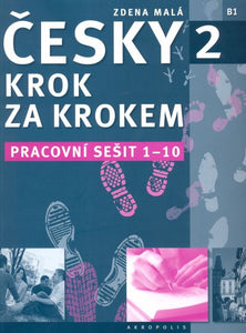 Czech Step-by-Step 2. Workbook 1 - lessons 1-10 9788087481660