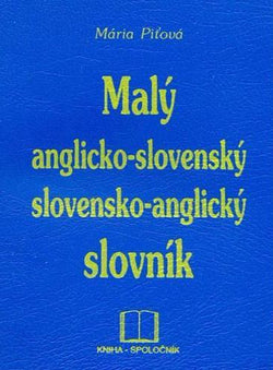 Pocket English-Slovak & Slovak-English Dictionary - 9788088814214 - front cover