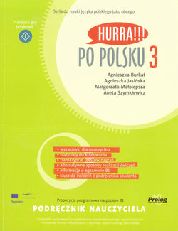 Hurra!!! Po Polsku. Volume 3: teacher's handbook 9788360229323