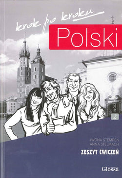 Polski Krok po Kroku. Volume 2: Student's Workbook. Book and free audio CD