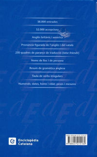 Catalan Concise Dictionary: Catalan-English & English-Catalan 9788441215160 - back cover