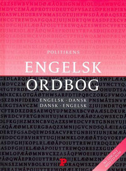 Politikens English-Danish & Danish-English Dictionary. Book & free CD-ROM