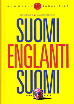 Large Finnish-English & English-Finnish Dictionary - 9789512067220- front cover