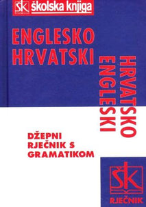 English-Croatian & Croatian-English Pocket Dictionary 9789530402232