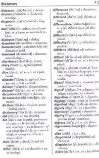 Teora English-Romanian Pocket Dictionary (one-way) 9789732013052  - sample page