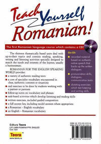 Teach Yourself Romanian! Course Book and free audio CD
