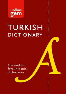 Collins Gem Turkish Dictionary: Turkish-English & English-Turkish 9780007324712