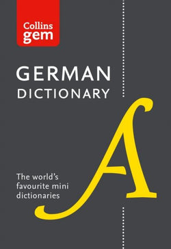 Collins Gem German Dictionary: German-English & English-German 9780008141868