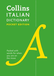 Collins Italian Pocket Dictionary: Italian-English & English-Italian 9780008183646