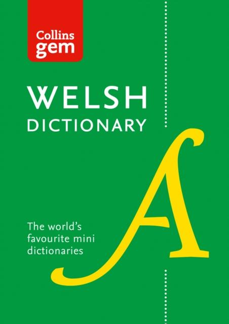 Collins Gem Welsh Dictionary: Welsh-English & English-Welsh 9780008194833