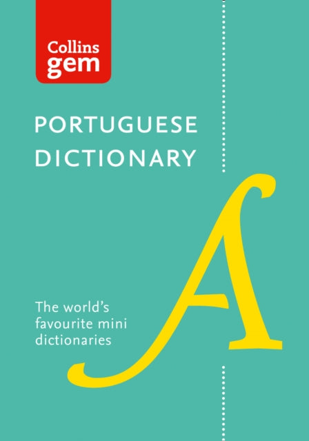 Collins Gem Portuguese Dictionary: Portuguese-English & English-Portuguese - 9780008200916