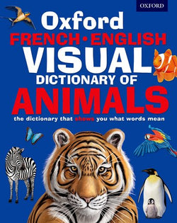 Oxford French-English Visual Dictionary of Animals 9780192737557