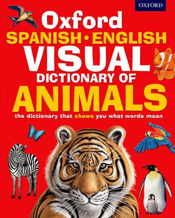 Oxford Spanish-English Visual Dictionary of Animals 9780192737564