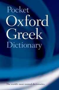 Pocket Oxford Greek Dictionary 9780198603276