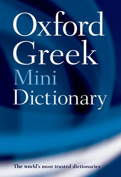 Oxford Greek Mini Dictionary: English-Greek & Greek-English 9780199234240