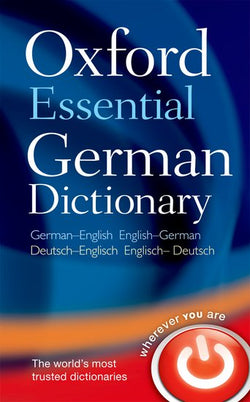 Oxford Essential German Dictionary: German-English & English-German 9780199576395